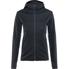 Mammut Ultimate V SO Hooded Jacket Damen black-black